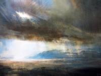 Zarina Stewart Clark Light and Rain, Gulf of Corryvreckan