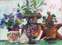 Helen Riches Lillies and Sweetpea