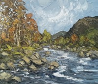 Martin Llewellyn Autumn Aberglaslyn Pass