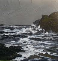 Martin Llewellyn Stormy sea Porth Dafarch