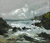 Martin Llewellyn Rough Sea Porth Dafarch