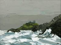 Martin Llewellyn Stormy Sea Criccieth