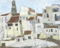 Grete Marks (1899-1990) Puerto de la Selva - Study