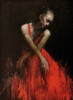 Mark Demsteader Study in Red 1