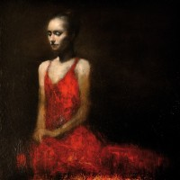 Mark Demsteader Study in Red 3