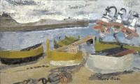Grete Marks (1899-1990) Fishing Boats, Rosas