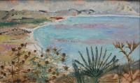 Grete Marks (1899-1990) Looking at Rosas Bay