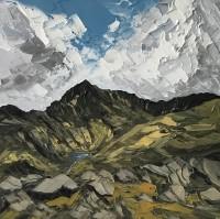 Martin Llewellyn Blue Sky, Snowdon