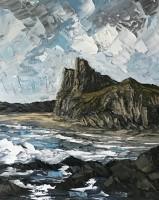 Martin Llewellyn Cliffs Fall Bay, Gower