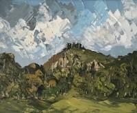 Martin Llewellyn Clouds over Carreg Cennen Castle