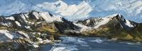 Martin Llewellyn Snow on Y Garn