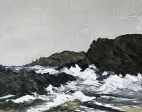 Martin Llewellyn Stormy day, Porth Dafarch