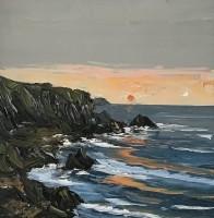Martin Llewellyn Sun Setting Over Pembrokeshire