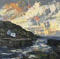Martin Llewellyn Sunset Porthgain