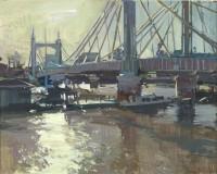 Luke Martineau Albert Bridge, winter morning light