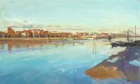Luke Martineau Chelsea Embankment, winter light