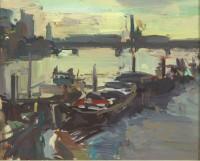 Luke Martineau Chelsea reach, winter light