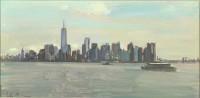 Luke Martineau Downtown Manhattan from Liberty Island