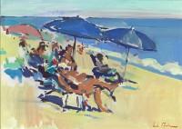 Luke Martineau Figures on a beach II