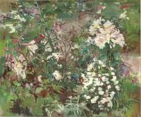 Luke Martineau Lilies and roses