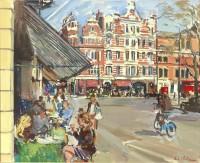 Luke Martineau Lunch in Sloane Square
