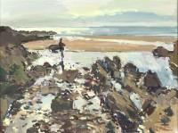 Luke Martineau Towards Lundy, evening low tide