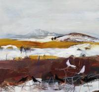 Crhistine Woodside Melting Snow, Fife