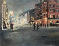 Michael Alford, Up to Piccadilly at Dusk