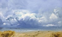 Oona Campbell Looking out to Sea, Studland Bay