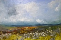 Oona Campbell The Moorland clouds were racing each other (Swineside Moor, North Yorkshire)