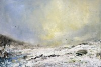 Oona Campbell Snow Crows, Fontmell Down
