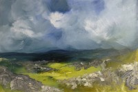 Oona Campbell  The Sun brought a Spring Light to the Moor (Swineside Moor, North Yorkshire)