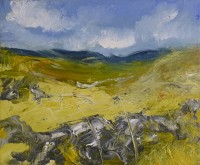 Oona Campbell Summer Thoughts (Coverdale, North Yorkshire)