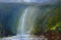 Oona Campbell Fall in isolation, Hardraw, North Yorkshire