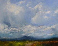Oona campbell Clouds Gathering, Paps of Jura