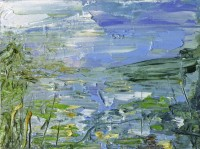 Oona Campbell Daffodil Reflections (River Stour)