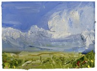 Oona Campbell Sun on the Downs (Cranborne Chase)