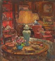 Susan Ryder RP NEAC Oak Room Lamps