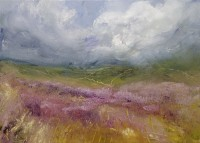 Oona Campbell The heather blowing in the September breeze (High Moor, North Yorkshire)