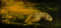 Mark Demsteader Ophelia Oil Study II