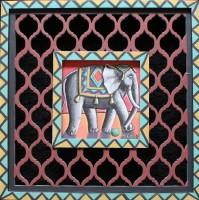 PJ Crook MBE RWA FRSA Little Elephant