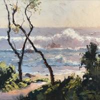 Warwick Fuller Pastel Sea, Mystery Bay