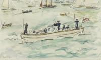 Paul Maze Squadron Barge, Cowes