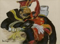 Paul Maze DCM MM (1887-1979) The Lancer's Uniform (9th/12th Royal Lancers)