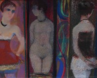 Sir Robin Philipson Three Dancers