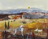 Christine Woodside Pienza, Tuscany