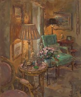 Susan Ryder RP NEAC Pink Marble Table