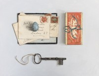 Rachel Ross Correspondence with Egg and Key