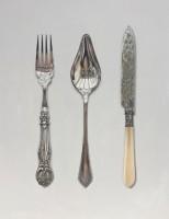 Rachel Ross Fork, Spoon and Cake Knife