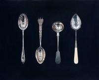 Rachel Ross Small Spoons on Black